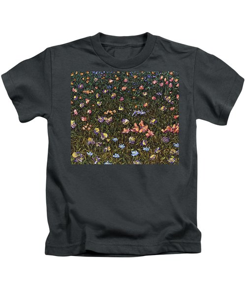 Wildflowers Kids T-Shirt