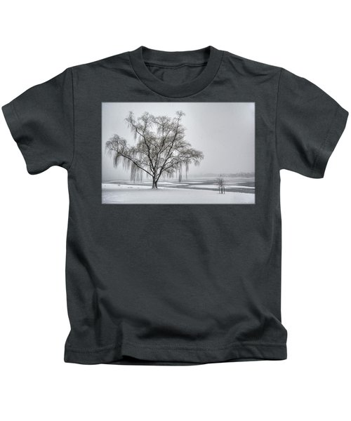 Willow In Blizzard Kids T-Shirt