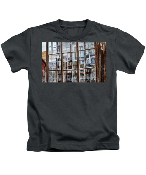 Window To The Past Kids T-Shirt