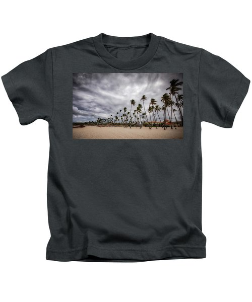 Windy Beach Kids T-Shirt