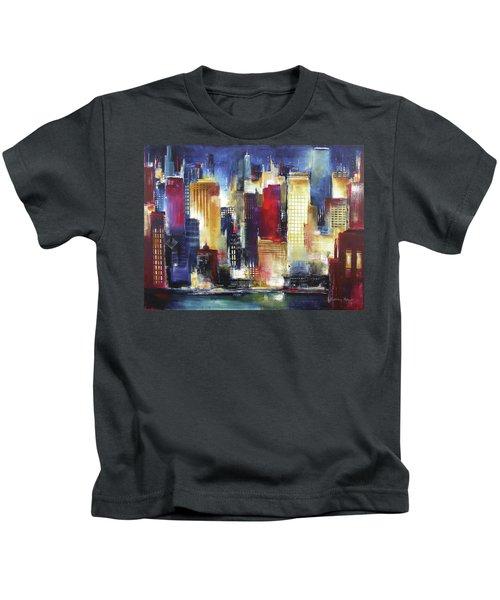 Windy City Nights Kids T-Shirt