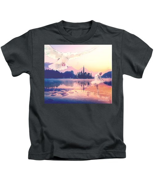 Wings Of Grace Kids T-Shirt