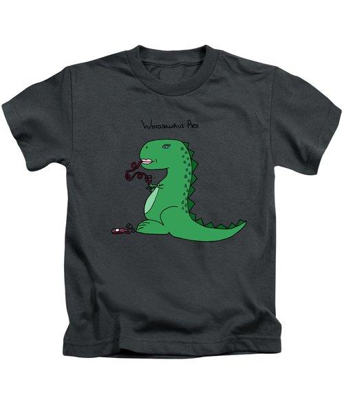 Winosaurus Rex Kids T-Shirt