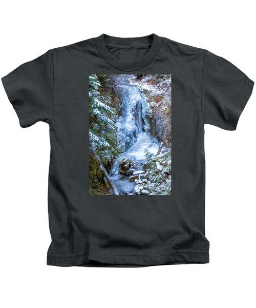 Winter Approaching Kids T-Shirt