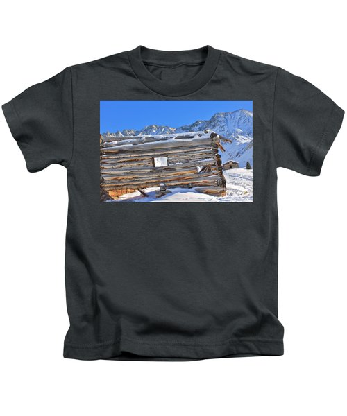Winter At The Boston Mine 5 Kids T-Shirt