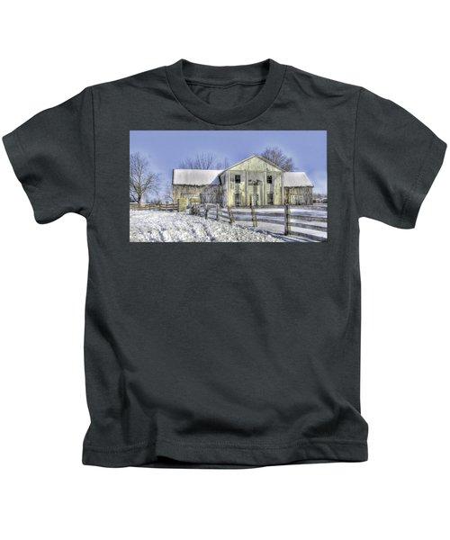 Winter Barn 3 Kids T-Shirt
