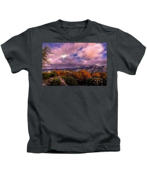 Winter Colors 25 Kids T-Shirt