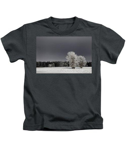 Winter Dreamscape Kids T-Shirt