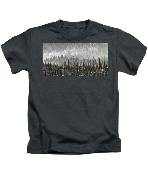 Winter Forest Kids T-Shirt