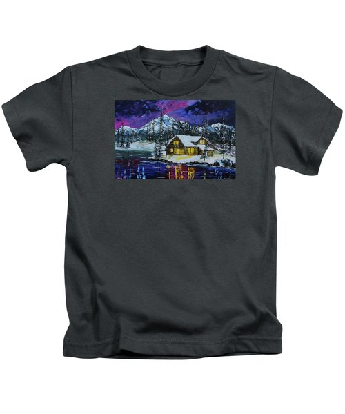 Winter Getaway Kids T-Shirt
