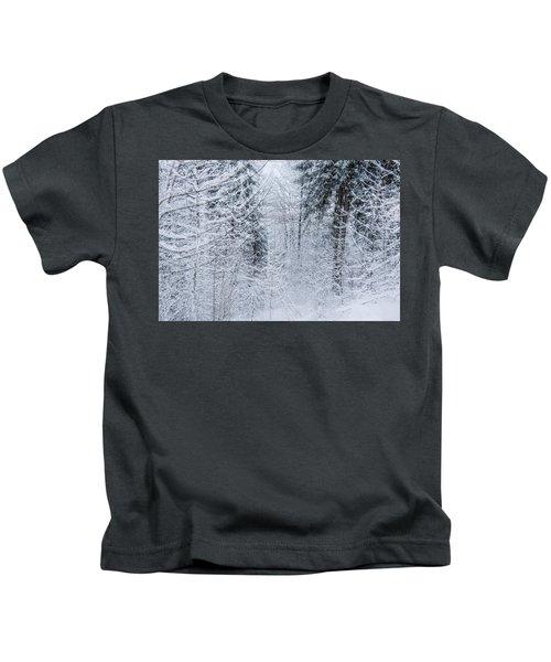 Winter Glow- Kids T-Shirt