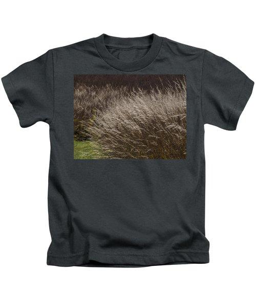 Winter Grass Kids T-Shirt