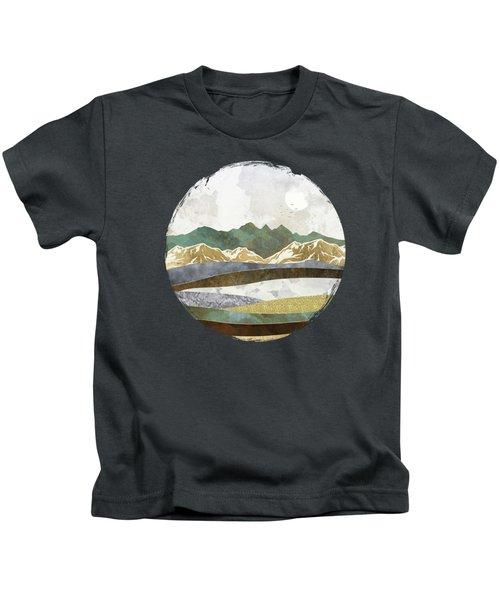 Winter Hills Kids T-Shirt