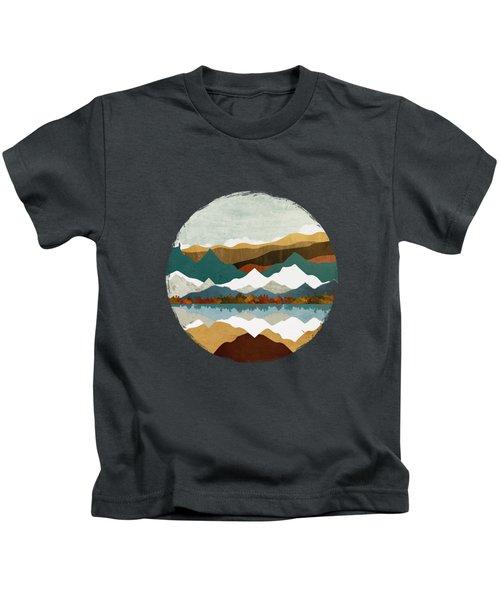 Winter Lake Kids T-Shirt