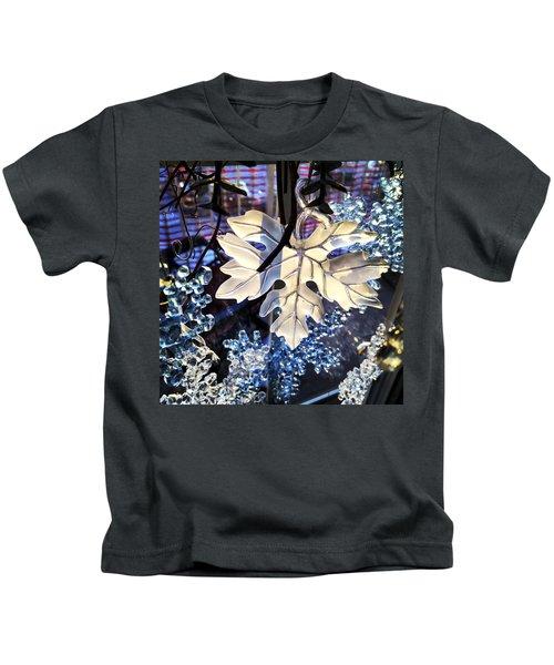 Winter Leaf Kids T-Shirt