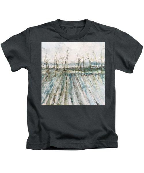 Winter On The Delta Kids T-Shirt