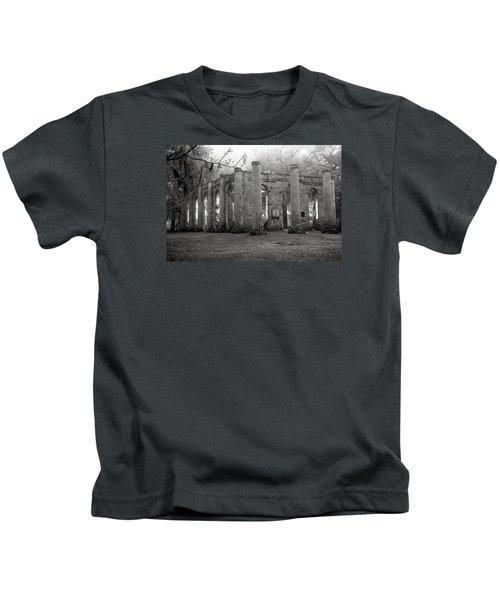 Winter Ruins Kids T-Shirt