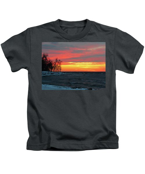 Winter Solstice Eve Kids T-Shirt