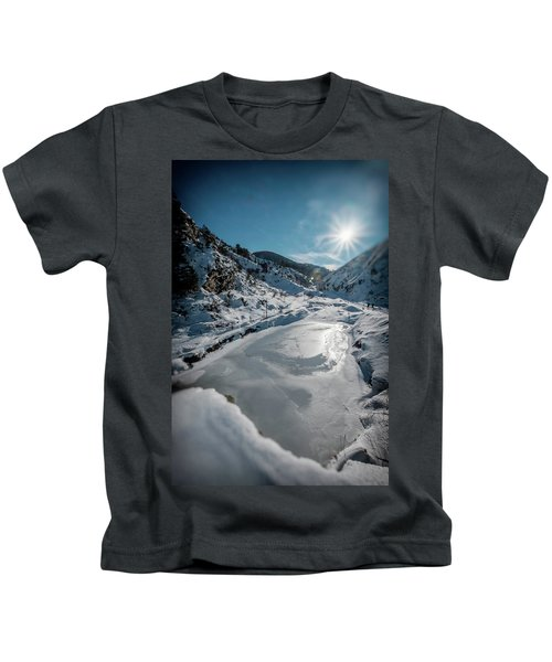 Winter Sun Kids T-Shirt