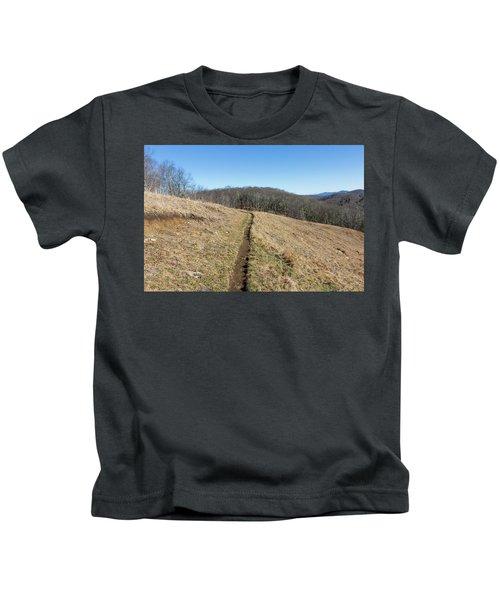 Winter Trail - December 7, 2016 Kids T-Shirt