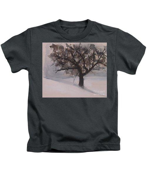 Winter Tree Kids T-Shirt