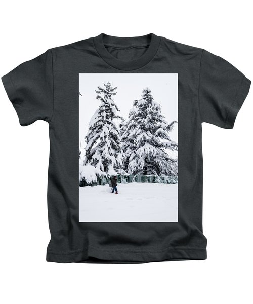 Winter Trekking Kids T-Shirt