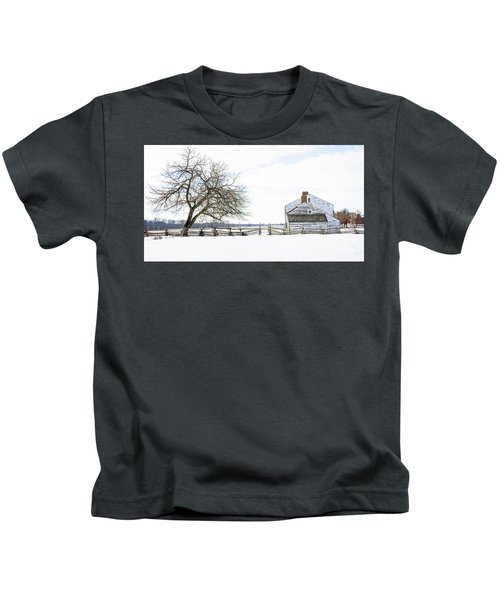 Winter White Out Kids T-Shirt