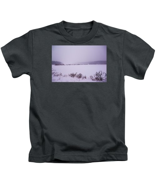 Winter's Desolation Kids T-Shirt
