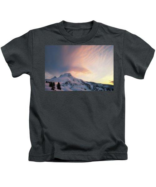 Winters Last Breath Kids T-Shirt