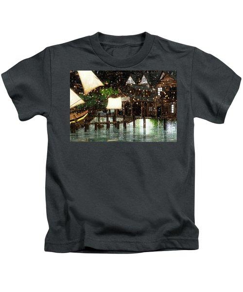 Wintery Inn Kids T-Shirt