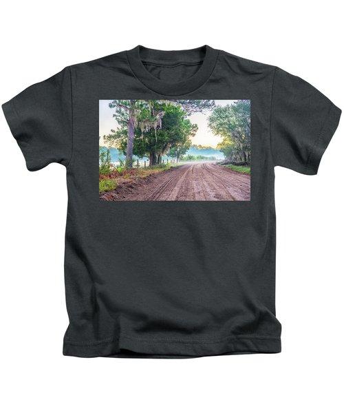Witsell Rd - Church Field Fog Kids T-Shirt