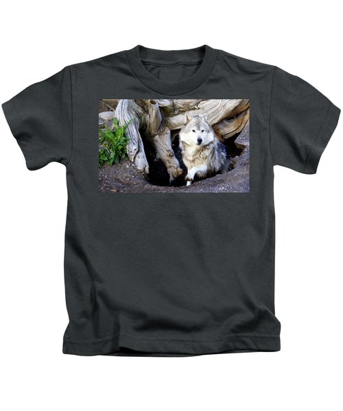 Wolf Den 1 Kids T-Shirt