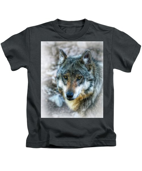 Wolf Gaze Kids T-Shirt