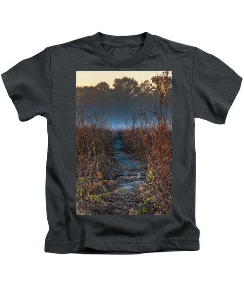 Wolf Road Prairie Trail Kids T-Shirt