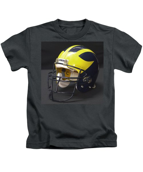 Wolverine Helmet From The 1990s Kids T-Shirt
