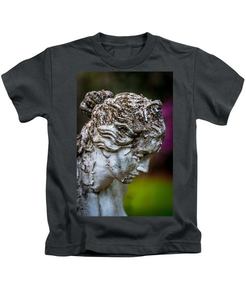 Woman Statue Head Kids T-Shirt