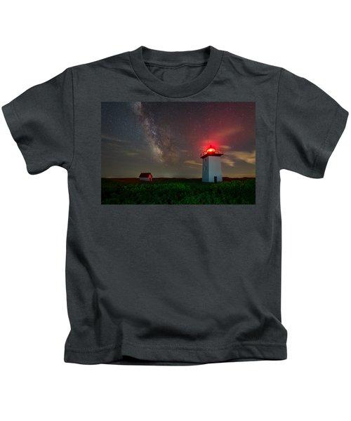Wood End Nights Kids T-Shirt
