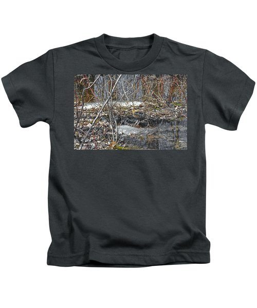 Woodcock's View Of The Forest Kids T-Shirt