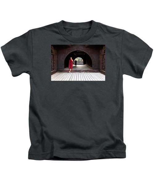 Wooden Monastery Kids T-Shirt