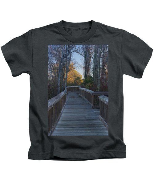 Wooden Path Kids T-Shirt