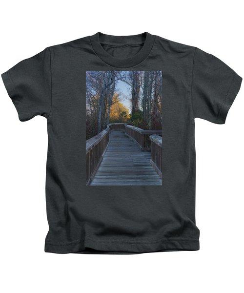 Wooden Path Kids T-Shirt