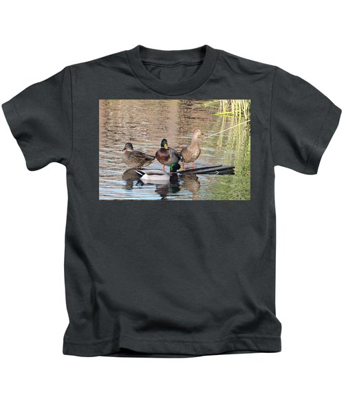 Woodies At Neary Kids T-Shirt