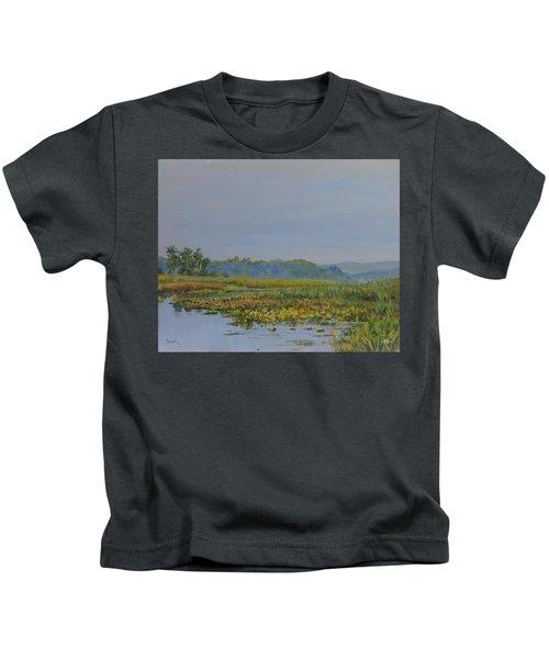 Woodland Lake Kids T-Shirt