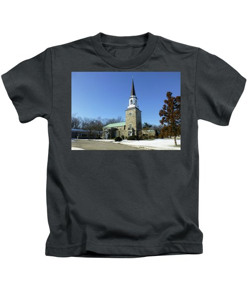 Woodlawn Cemetery Chapel Kids T-Shirt