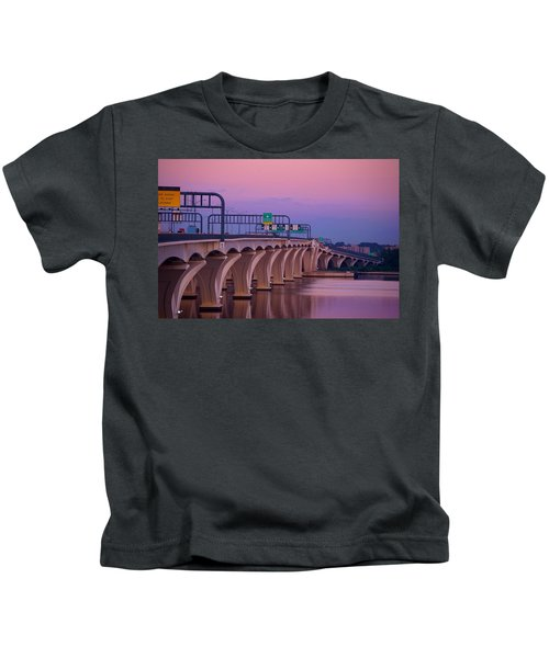 Woodrow Wilson Bridge Kids T-Shirt