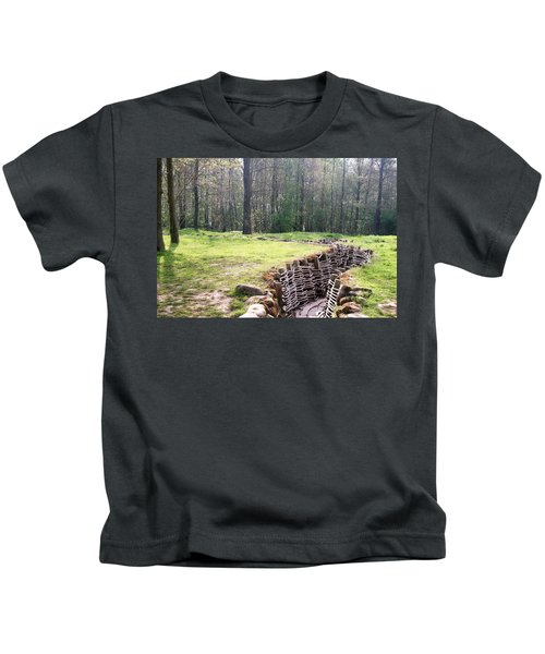 World War One Trenches Kids T-Shirt