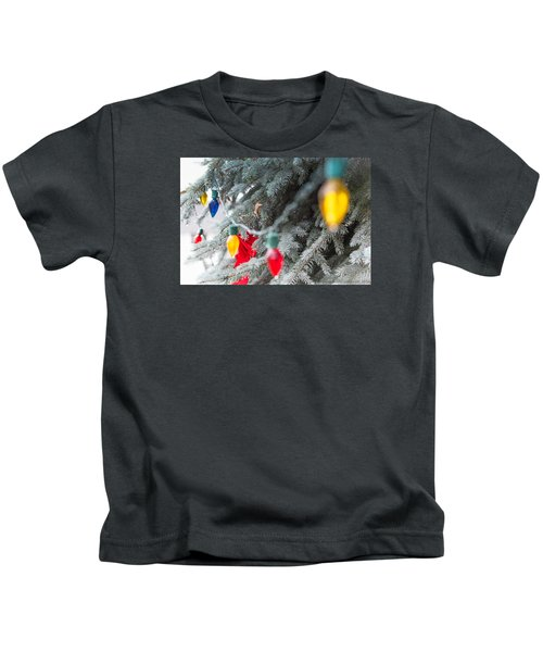 Wrap A Tree In Color Kids T-Shirt