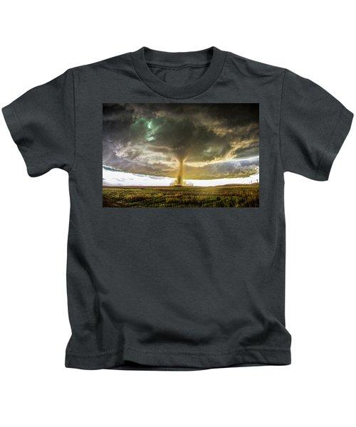 Wray Colorado Tornado 070 Kids T-Shirt
