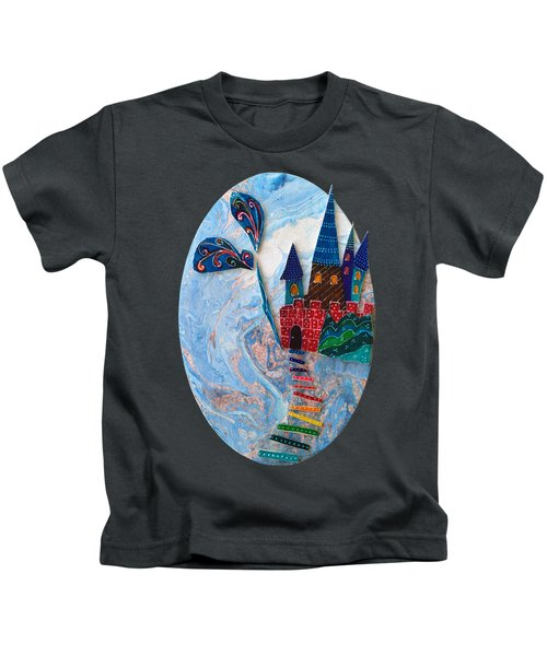 Wuthering Heights Kids T-Shirt by Aqualia