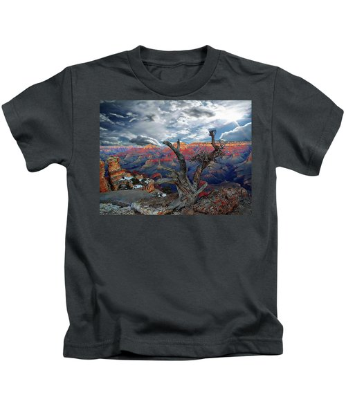 Yaki Point Grand Canyon Kids T-Shirt